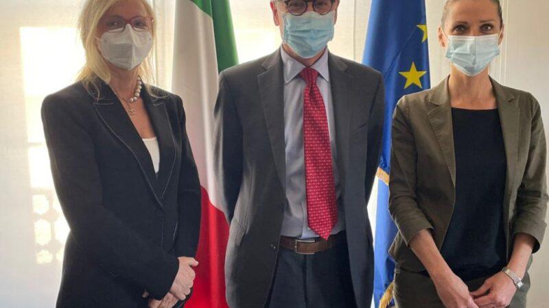 Nissoli (FI): Dal Sottosegretario allo Sport, Valentina Vezzali, per rappresentare le problematiche legate ai diritti televisivi sulla serie A di calcio per gli italiani all'estero