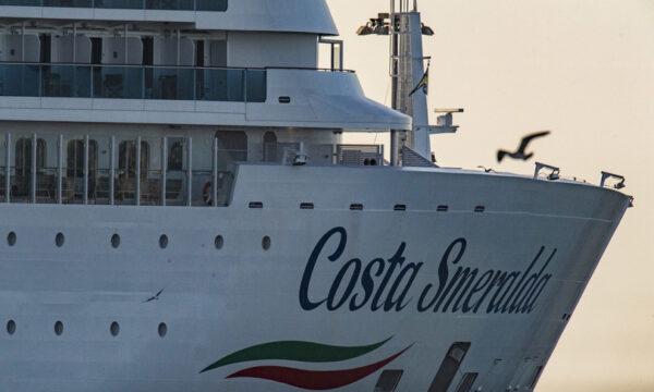 Partita la prima crociera italiana dell'anno