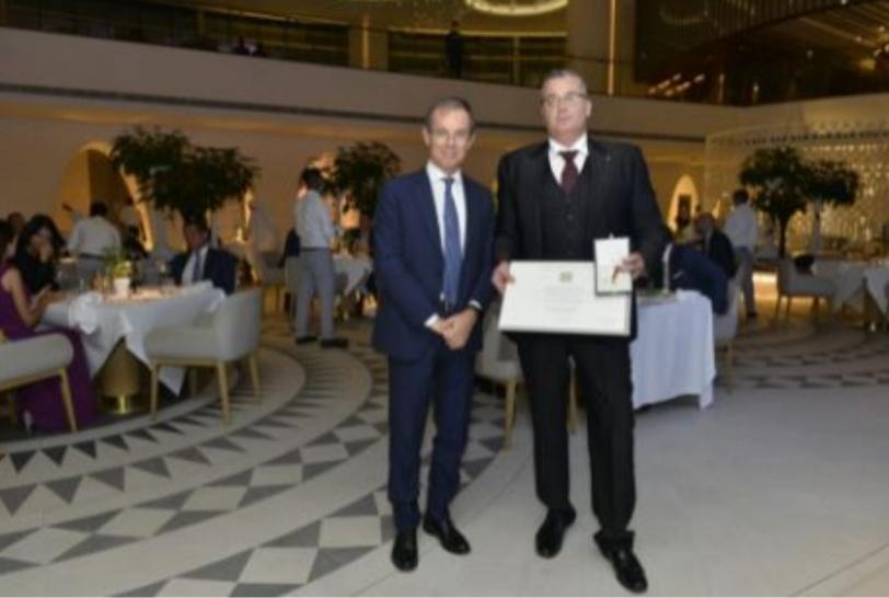 A Pierdanilo Sanna l'onorificenza al merito della Repubblica Italiana