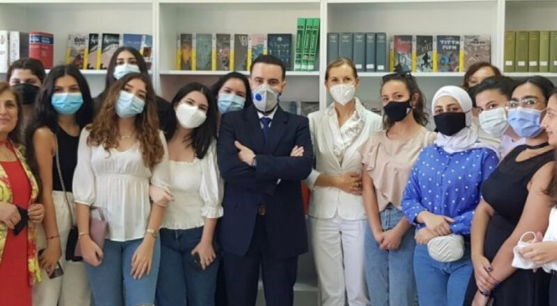 "Nasce a Beirut la ""Biblioteca Italia"""