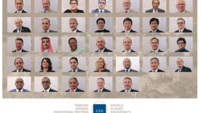 G20: la ministeriale esteri – sviluppo e la Dichiarazione di Matera