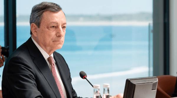 Draghi all'Europa, agire sui rincari energetici per tutelare la ripresa