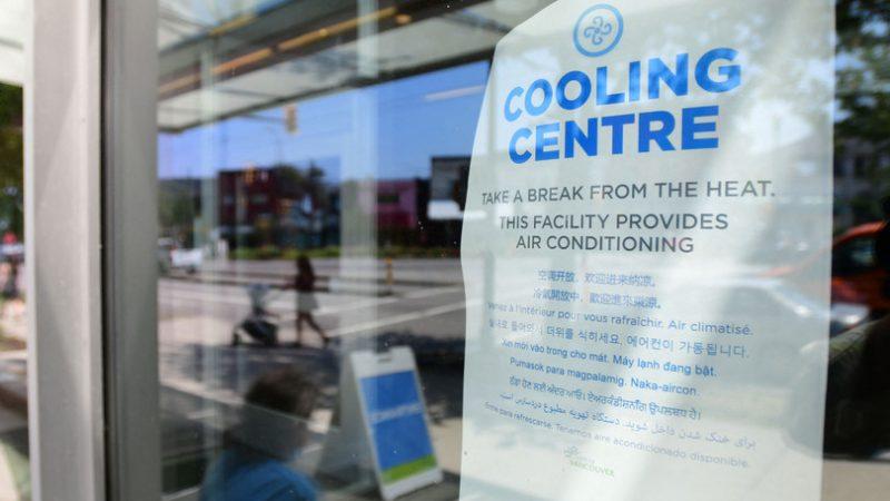 In Canada caldo come nel Sahara, centinaia di morti