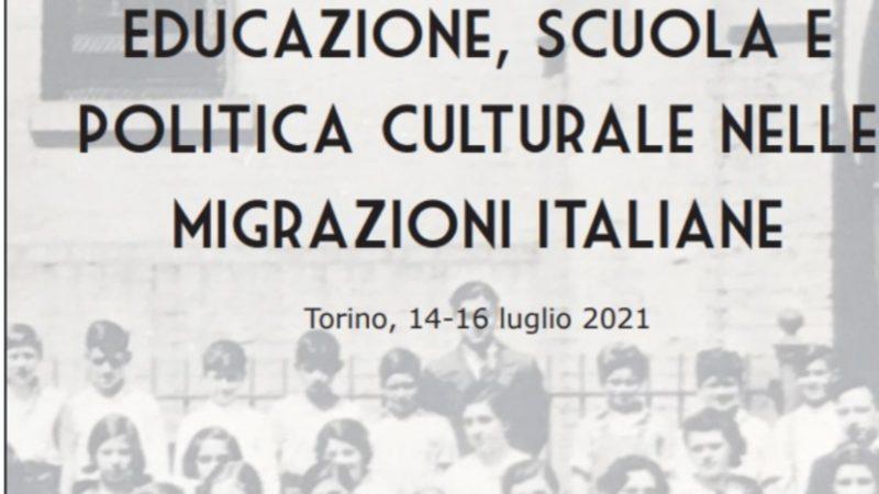 Educazione, scuola e politica culturale nelle migrazioni italiane: convegno internazionale a Torino
