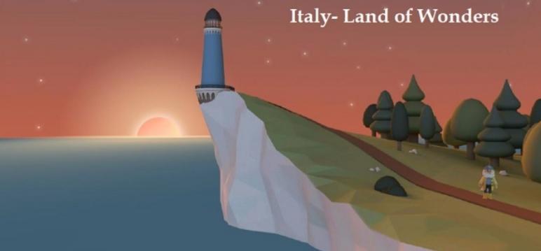 """Italy. Land of Wonders"""": un videogioco per scoprire l'Italia ad ogni età"""