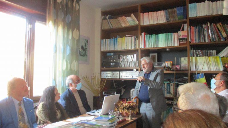 """Napoli : la cerimonia del XXXVI premio internazionale """"letteratura"""" dell'istituto Italiano di cultura"""
