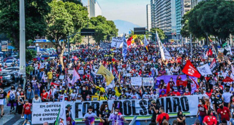 Nas ruas contra a corrupção