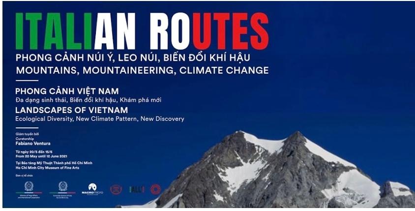 """Si apre ad Hanoi la mostra """"Italian routes & Landscapes of Vietnam"""""""