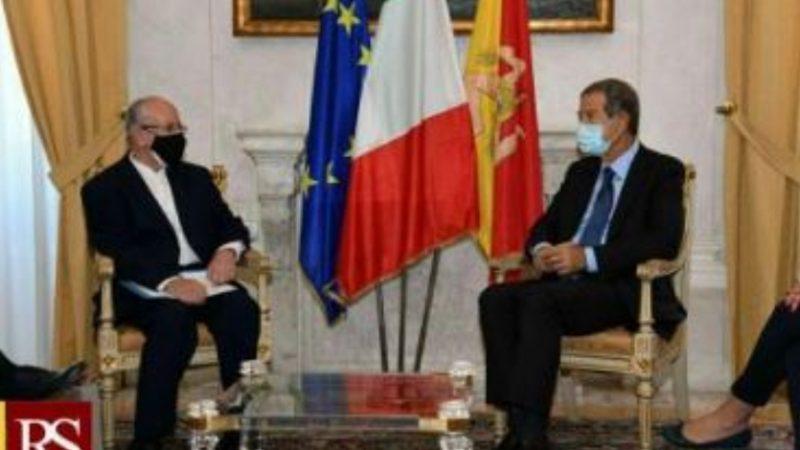 Sicilia-Iran: il governatore Musumeci riceve l'ambasciatore Bayat a Palermo