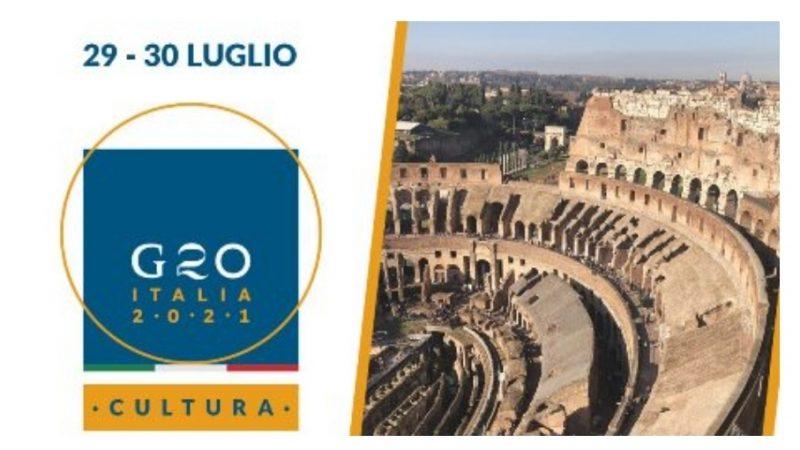 G20: il 29 e 30 luglio a Roma la ministeriale Cultura