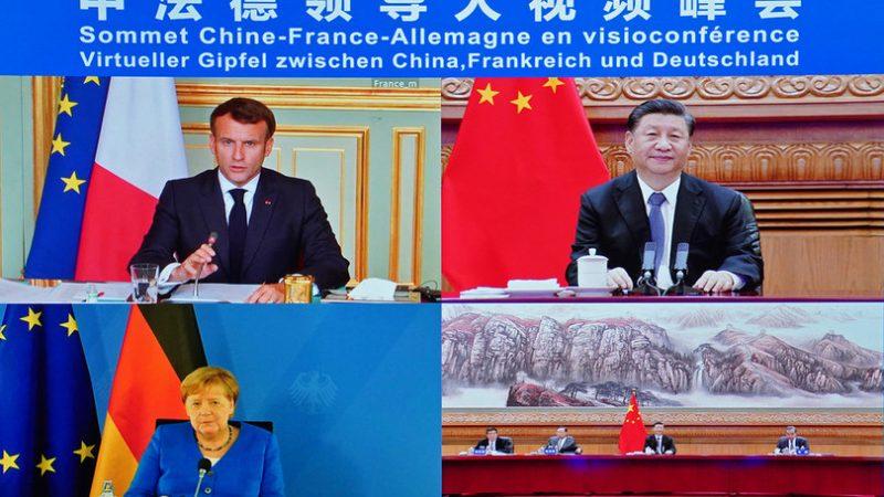 """""""Merkel e Macron vogliono l'accordo Cina-Ue sugli investimenti"""". Lo sostiene Pechino"""