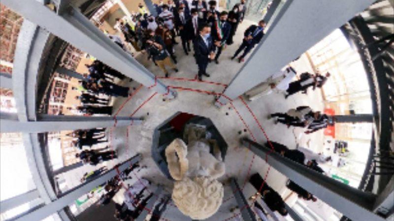 A Expo  Dubai  si  studia Michelangelo in  3D