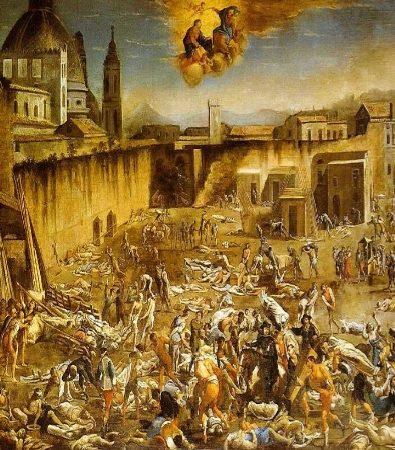 Pandemie nella storia e arte