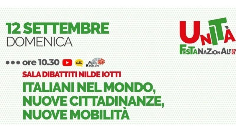 Pd: si parla di italiani nel mondo alla Festa dell'Unità