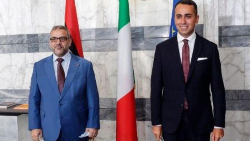Italia – Libia: Di Maio incontra Khaled Ammar Al-Meshri
