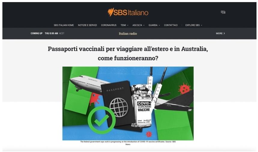 Passaporti vaccinali per viaggiare all'estero e in Australia, come funzioneranno?