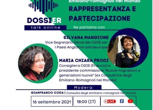Rappresentanza e partecipazione: domani il secondo incontro della Consulta degli emiliano-romagnoli nel mondo