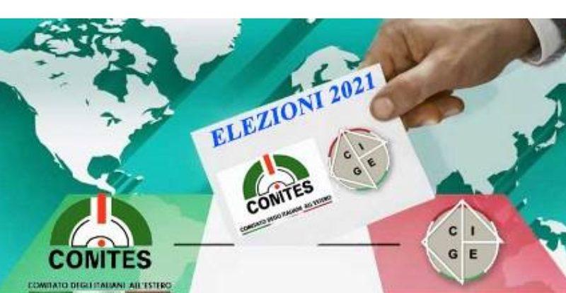 Elezioni Comites: da domani la presentazione delle liste