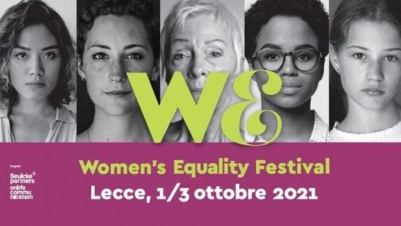 A Lecce il Women's Equality Festival