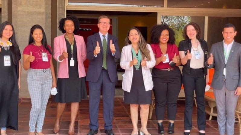 Brasile: l'Ambasciatore Azzarello accoglie delegazione del Ministero Ambiente