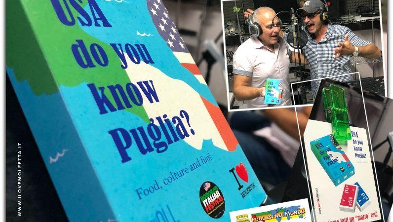 """""""U.S.A. Do You Know Puglia?""""  Un nuovo gioco di carte per tutti gli emigranti pugliesi e non"""