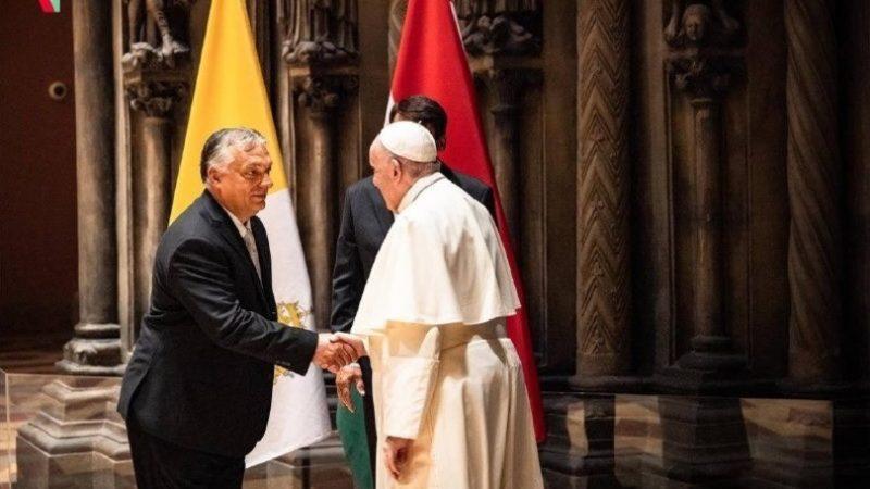 Il Papa incontra Orban, serve fraternità contro i rigurgiti di odio