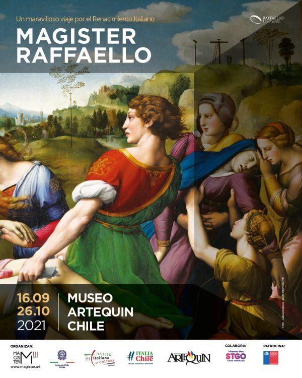 """La mostra """"Magister Raffaello"""" approda a Santiago del Cile"""