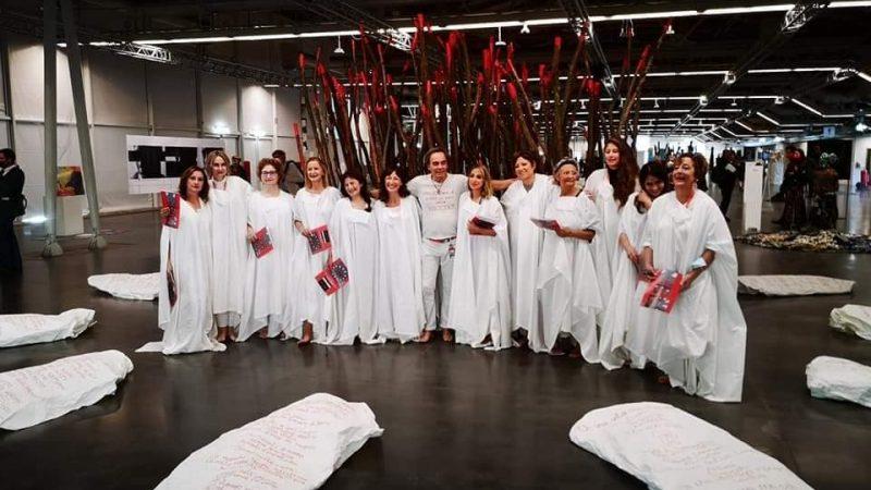 L'architetto-artista Giovanni Ronzoni e dodici poetesse alla XIII Florence Biennale 2021