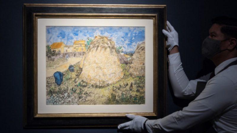 La travagliata storia del disegno di Van Gogh che potrebbe stabilire un record