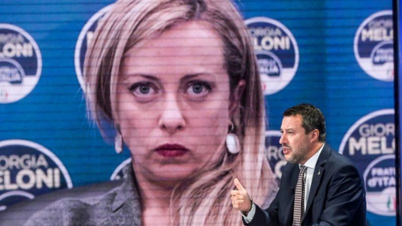 Salvini ri-spacca il Centrodestra, Meloni lo supera e al Pd non piace Conte 'schizzinoso'
