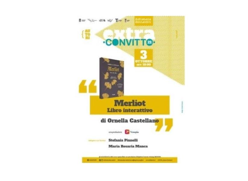 Merliot: il libro di Ornella Castellano
