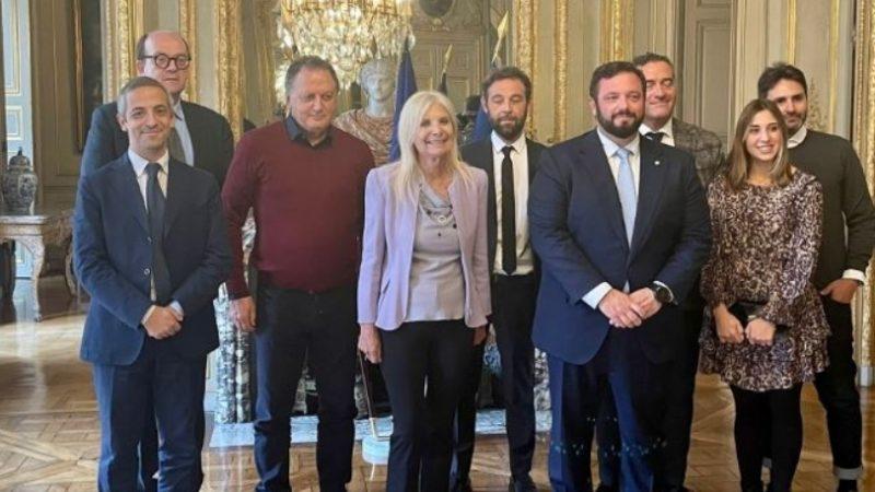Parigi: delegazioni marchigiana protagonista con l'Ambasciatrice Castaldo alla Fiera Premiere Classe
