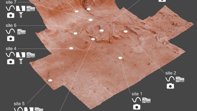 Le tane fossili indicano dove cercare la vita su Marte