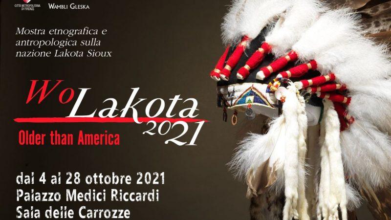 Wo Dakota 2021 – il popolo Sioux Dakota ritorna a Firenze
